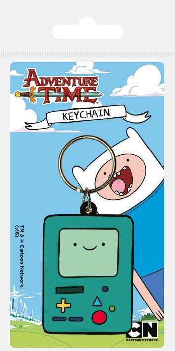 Adventure Time BMO Rubber Keychain