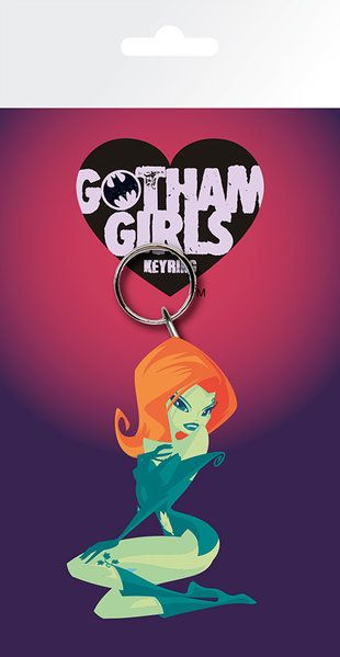 DC Comics Gotham Girls Poison Ivy Rubber Keychain
