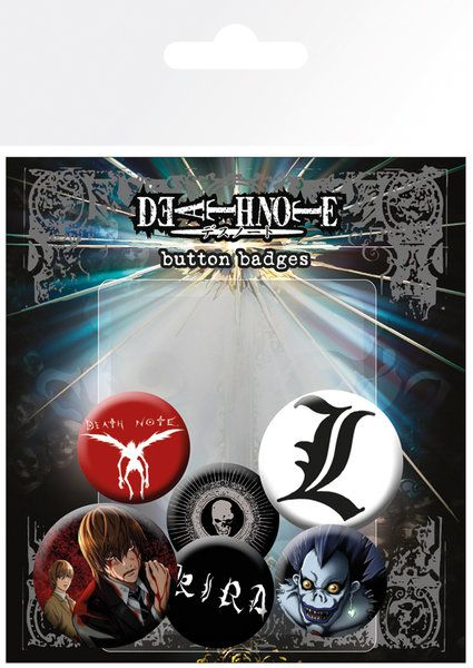 Death Note Badge Pack
