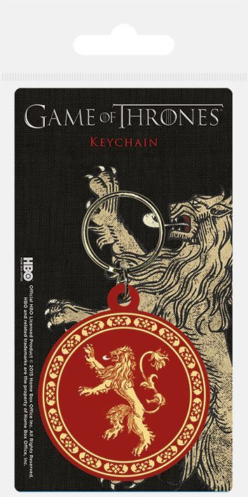 Game of Thrones Lannister Rubber Keychain