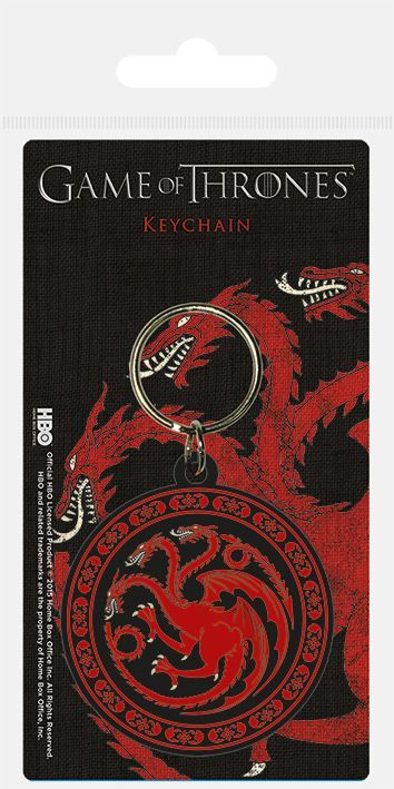 Game of Thrones Targaryen Rubber Keychain