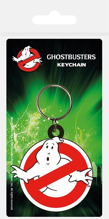 Ghostbusters Rubber Keychain