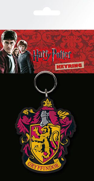 Harry Potter Gryffindor Rubber Keychain