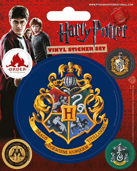 Harry Potter Hogwarts Vinyl Stickers | Buy now at The G33Kery - UK Stock - Fast Delivery