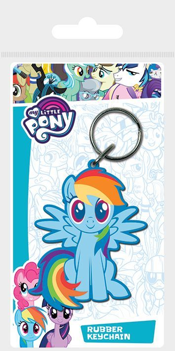 My Little Pony Rainbow Dash Rubber Keychain