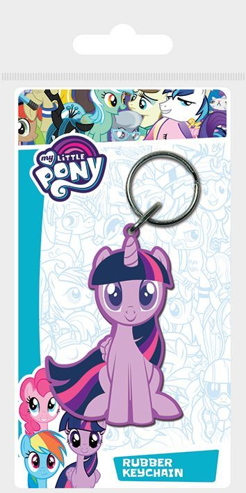 My Little Pony Twilight Sparkle Rubber Keychain
