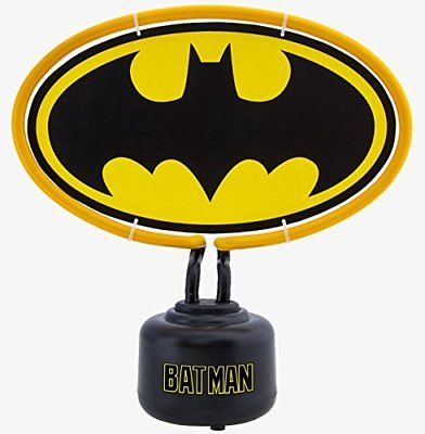 DC Comics Batman Logo Neon Light