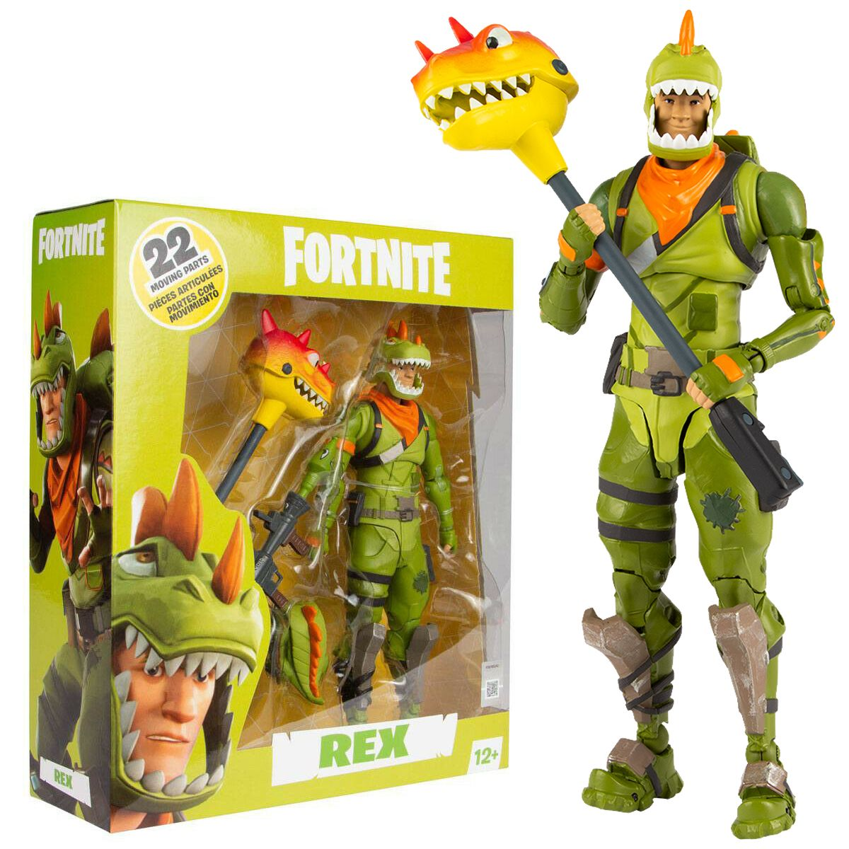 Fortnite Rex 7 Action Figure Buy Now At The G33kery Uk Stock