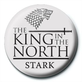 Game of Thrones King in the North Badge
