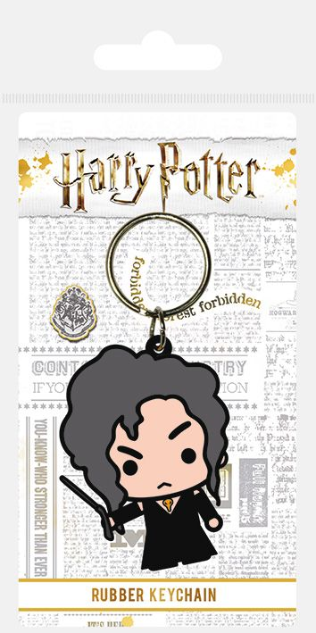 Harry Potter Bellatrix Lestrange Chibi Rubber Keychain