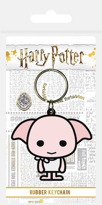 Harry Potter Dobby Chibi Rubber Keychain