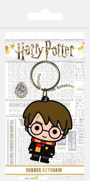Harry Potter Harry Chibi Rubber Keychain