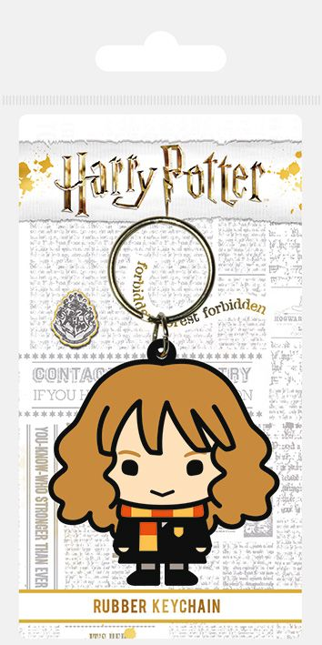 Harry Potter Hermione Chibi Rubber Keychain