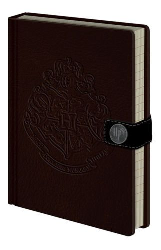 Harry Potter Hogwarts Crest A5 Leather Look Notebook