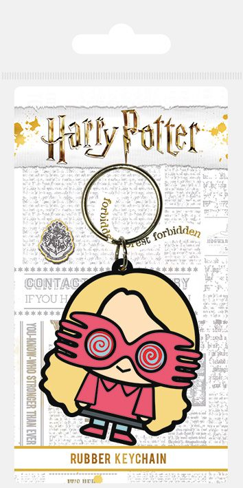 Harry Potter Luna Chibi Rubber Keychain
