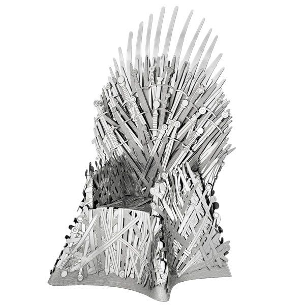 Metal Earth IconX Game of Thrones Iron Throne Model Kit | Buy now at The G33Kery - UK Stock - Fast Delivery
