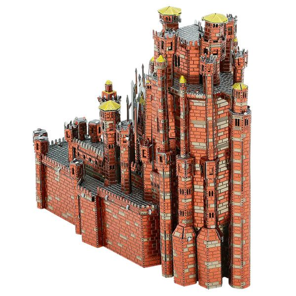 Metal Earth IconX Game of Thrones Red Keep Model Kit | Buy now at The G33Kery - UK Stock - Fast Delivery