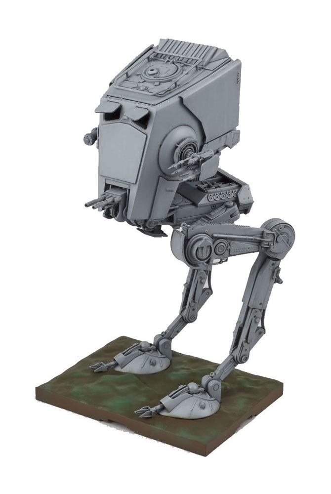 Star Wars Bandai Plastic Model Kit 1/48 AT-ST | Buy now at The G33Kery - UK Stock - Fast Delivery