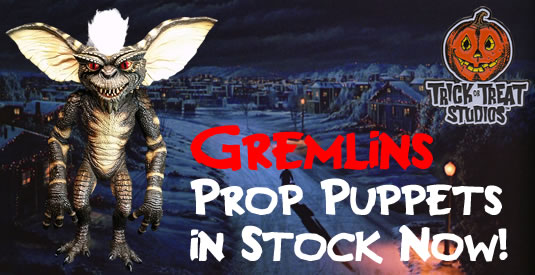 Trick or Treat Gremlin puppets back in stock!